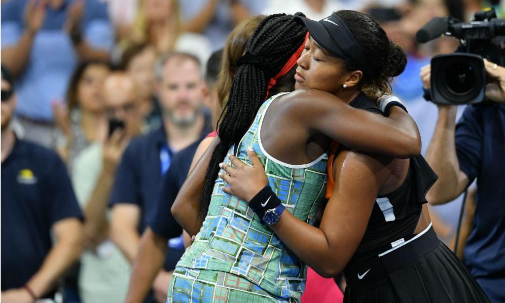 Naomi Osaka e Coco Gauff ( Antoine Couvercelle/ Reuters)