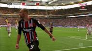 Gonçalo Paciência assiste e Bas Dost marca para o Eintracht