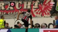 O golo de Gonçalo Paciência que deu a vitória ao Eintracht Frankfurt