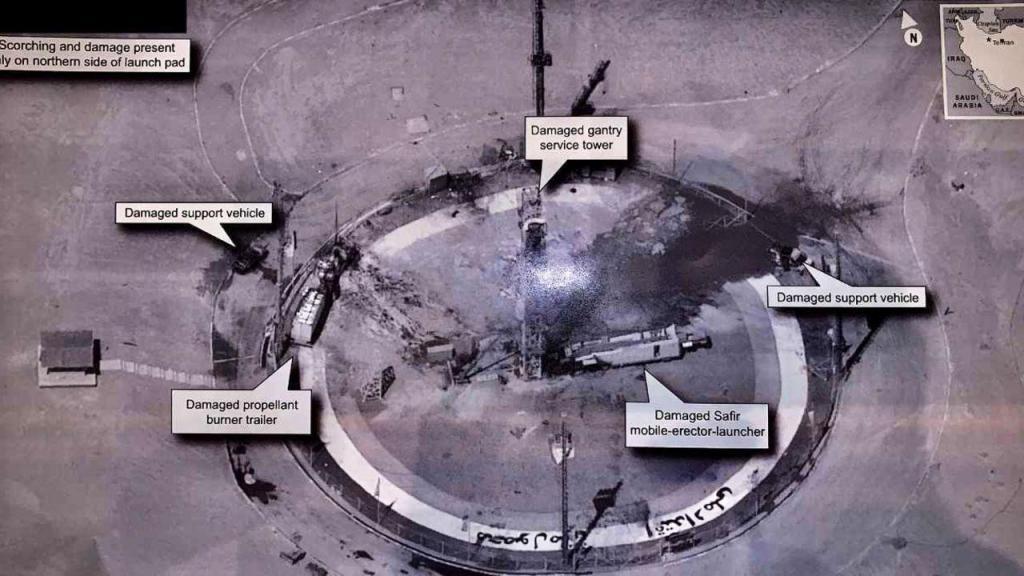 Irão reconheceu explosão de um 'rocket' e atribui a falha técnica