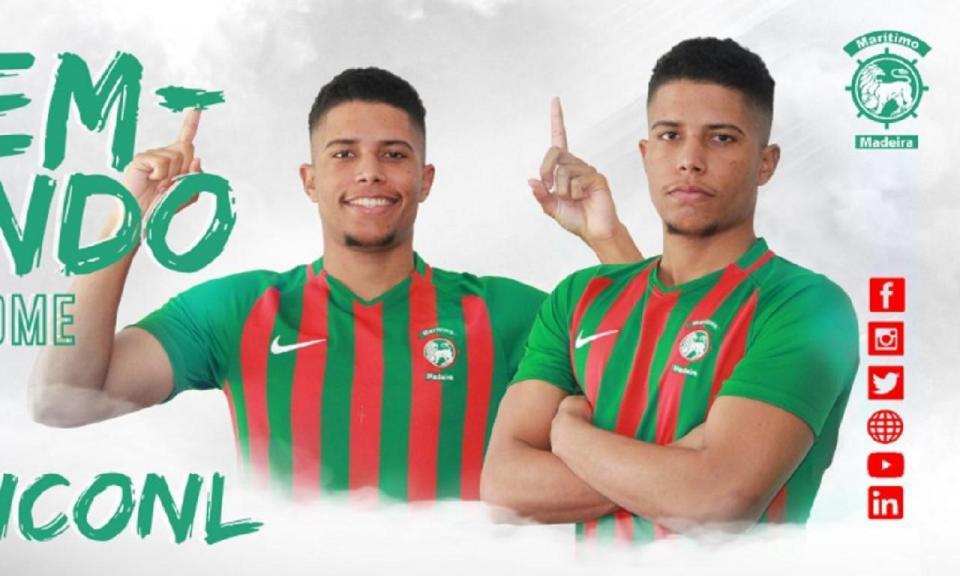OFICIAL: Marítimo contrata Lynconl Nunes