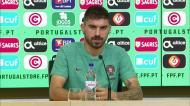 Rúben Neves fala sobre a integração de Ferro e Podence na Seleção A