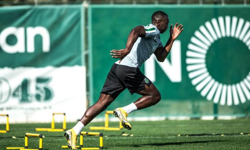 Bolasie integrado nos treinos do Sporting (Sporting CP)