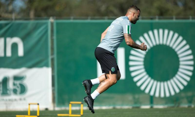 Jesé integrado nos treinos do Sporting (Sporting CP)