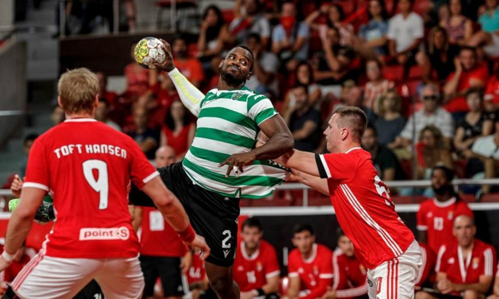Andebol: Benfica 28-30 Sporting (Sporting CP)