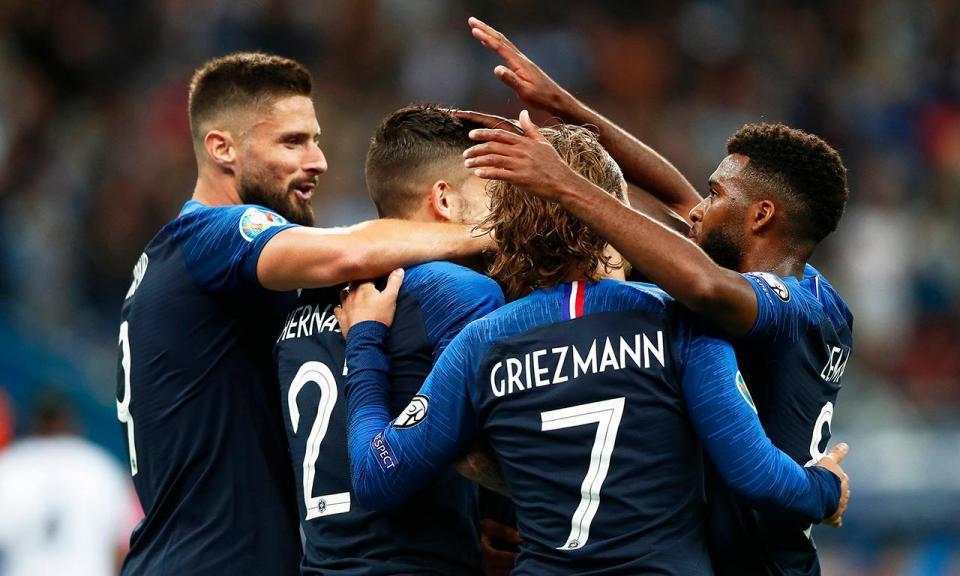 Euro 2020: após troca de hinos, França acerta na nota e goleia Albânia
