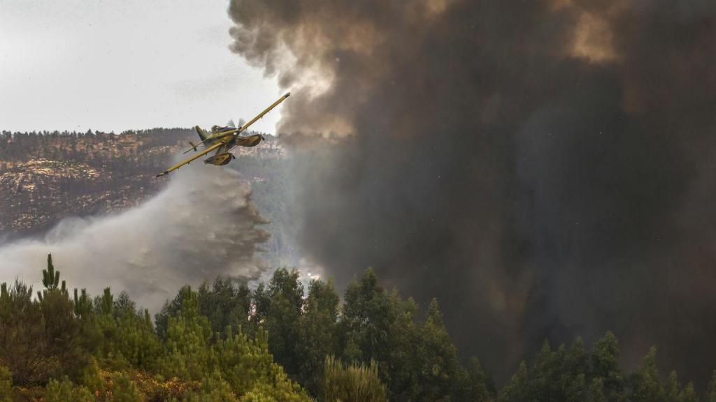 Incêndio em Castro Daire