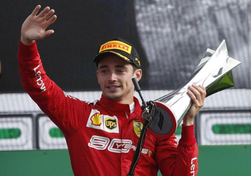 Charles Leclerc  (Associated Press)