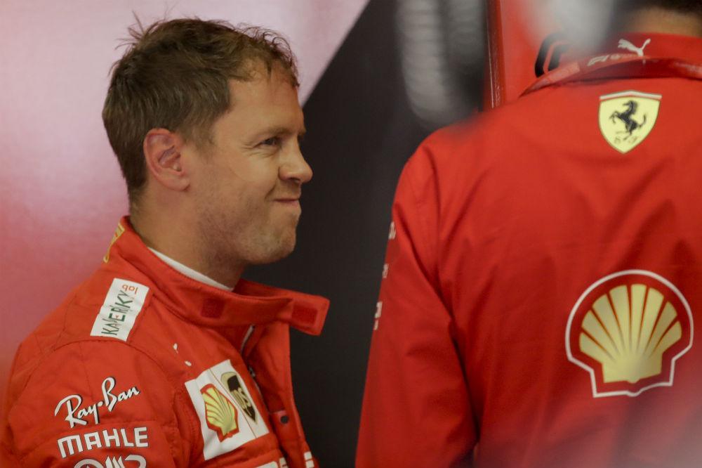 Sebastian Vettel (Associated Press)