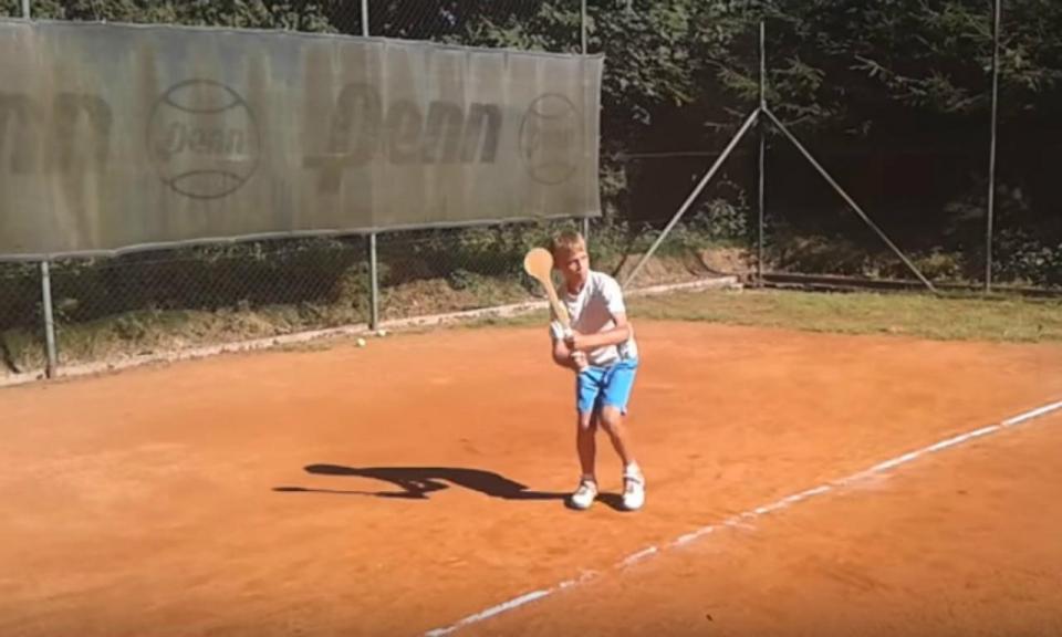 VÍDEO: o campeão do US Open que treinava com uma colher de pau