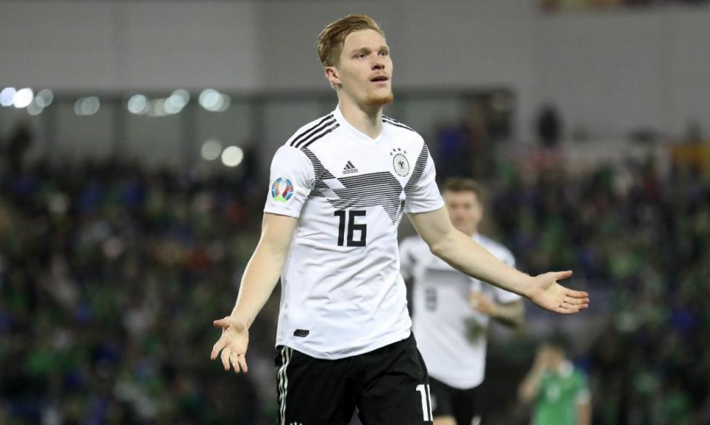 Euro 2020: Irl. Norte-Alemanha :: Marcel Halstenberg (AP)