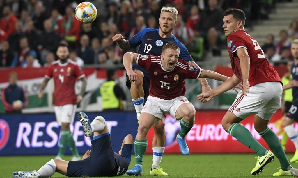 Euro 2020: Hungria-Eslováquia (AP)