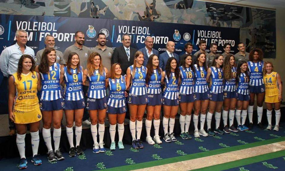FC Porto regressa ao voleibol com equipa feminina