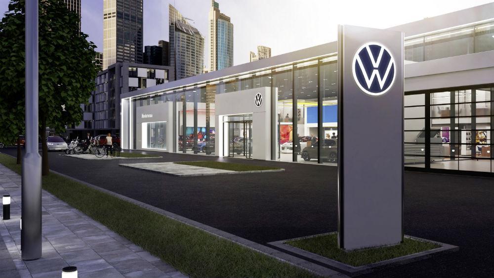 Nova imagem de marca da Volkswagen