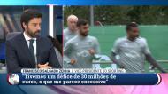 «Bruno Fernandes? Não cortarmos as pernas aos jogadores»