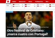 Imprensa internacional (outra vez!) rendida a Ronaldo