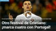 Mundo do futebol volta a render-se a Cristiano Ronaldo