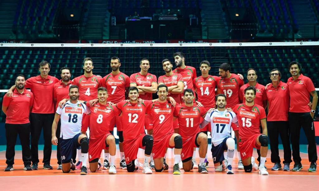 Seleção portuguesa de Voleibol (foto: FPV)