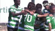 Liga Revelação: Sporting vira jogo com hat-trick de Pedro Mendes