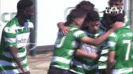 Liga Revelação: Sporting vence com hat-trick de Pedro Mendes