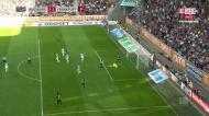 O resumo do Augsburgo-Eintracht, com golo de Paciência