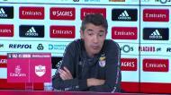 «Raul de Tomás e Seferovic têm feito muitos golos nos treinos»