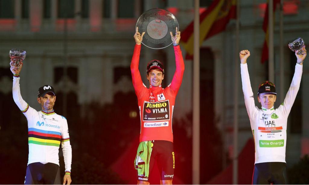 Roglic consagração Vuelta