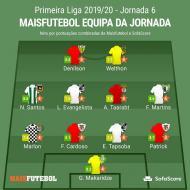 Equipa da jornada Maisfutebol-SofaScore
