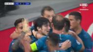VÍDEO: primeiro golo da Liga dos Campeões marcado no grupo do Benfica