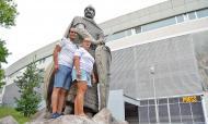 Adeptos do V. Guimarães: José Miguel e Tânia Oliveira (Ricardo Jorge Castro)