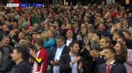 VÍDEO: Haland faz o hat-trick e coloca o jogo em contornos de goleada (4-1)