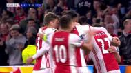 VÍDEO: Tagliafico aumenta a vantagem do Ajax (3-0)