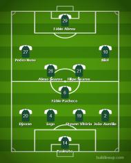 Onzes prováveis Moreirense-Benfica