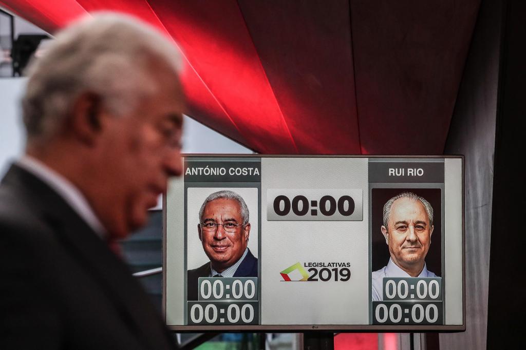 Rio e Costa no debate das radios