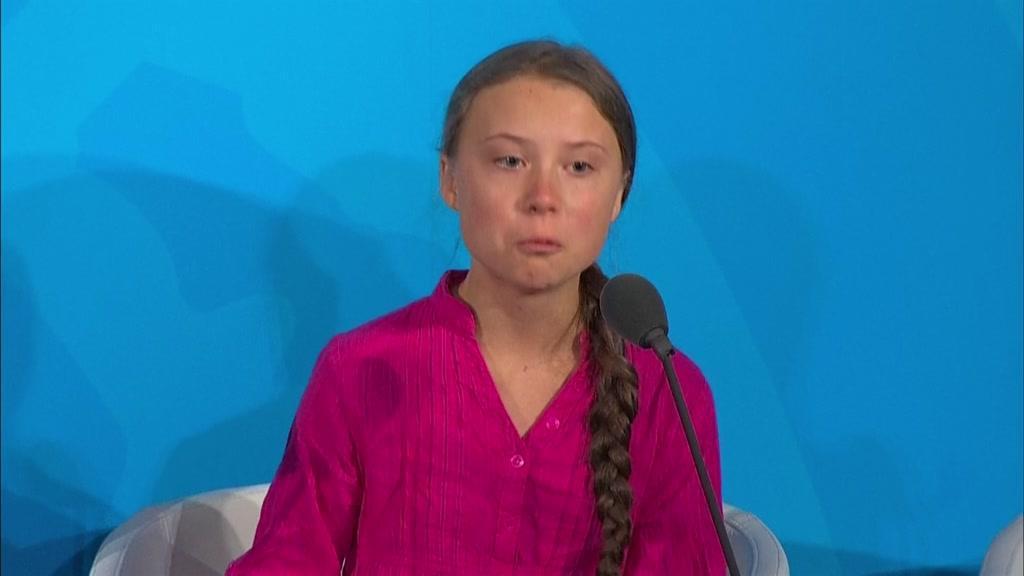 O discurso emocionado de Greta Thunberg na cimeira da ONU
