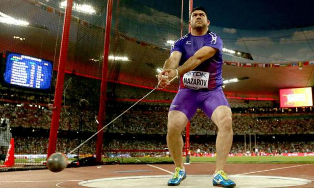 Dilshod Nazarov suspenso por doping