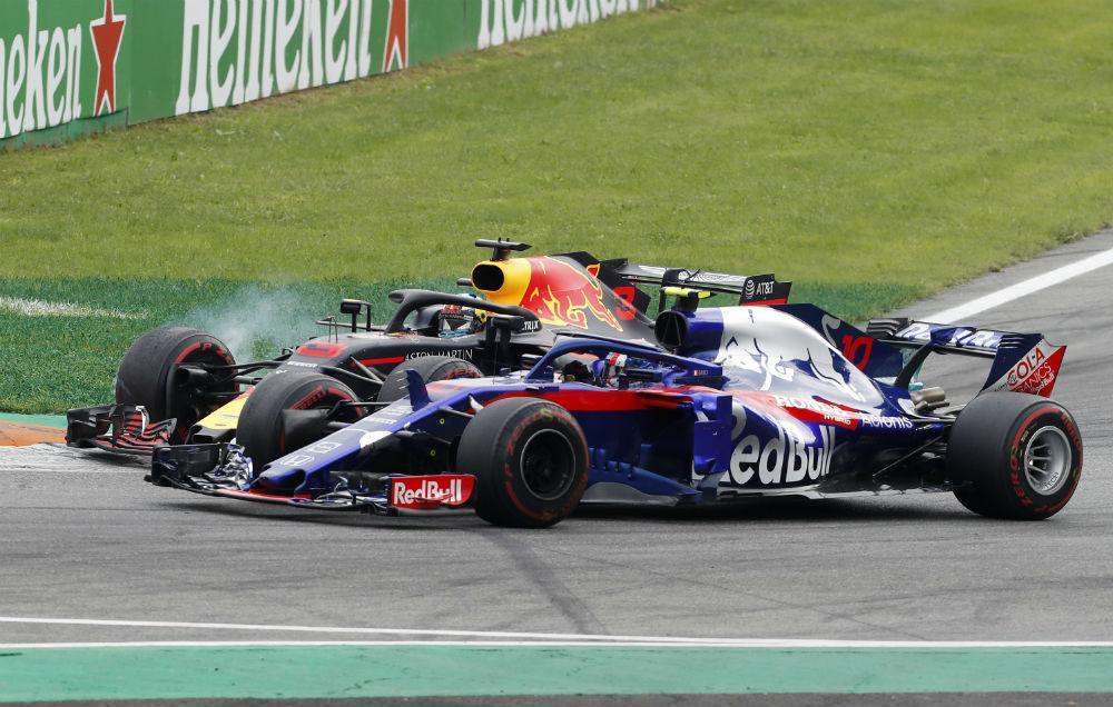 Red Bull e Toro Rosso (Associated Press)