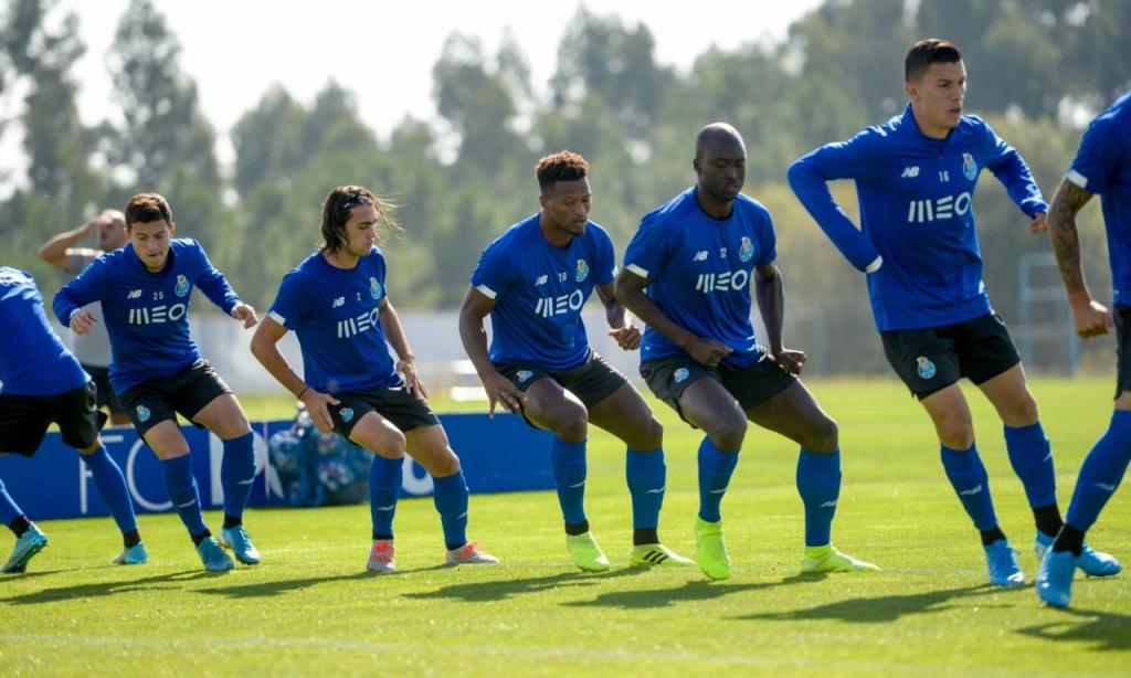 FC Porto prepara jogo com o Rio Ave, da 7.ª jornada da Liga (FC Porto)
