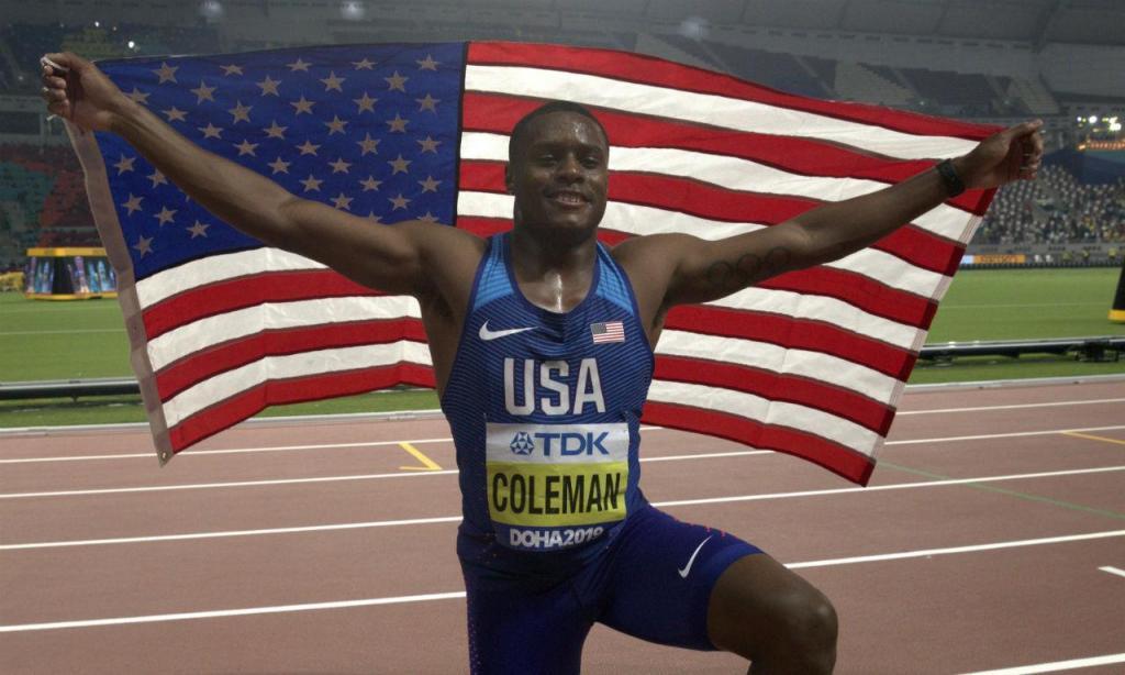 Christian Coleman (EPA/VALDRIN XHEMAJ)