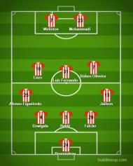 Onzes prováveis Aves-Sporting