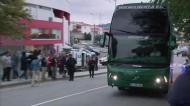 Varandas insultado na chegada do Sporting à Vila das Ave