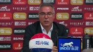 Inácio explica como se prepara um jogo ante o Sporting com um treinador novo