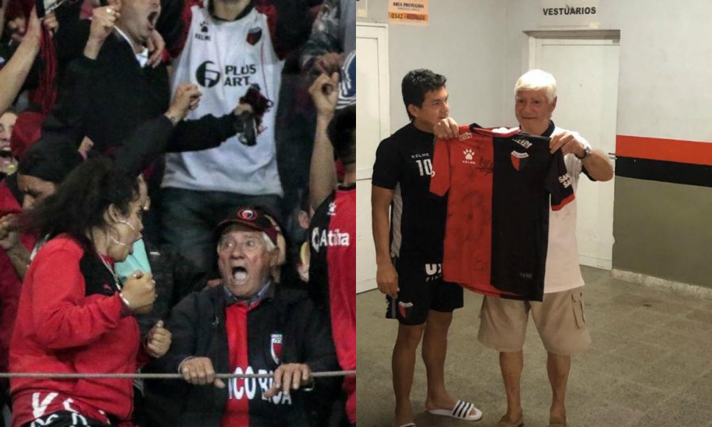 Adepto do Colón viajou 42 horas de autocarro e recebeu bilhete para a final da Taça Sul-Americana