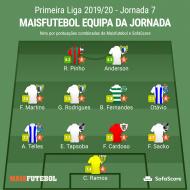 Equipa da jornada Maisfutebol/SofaScore