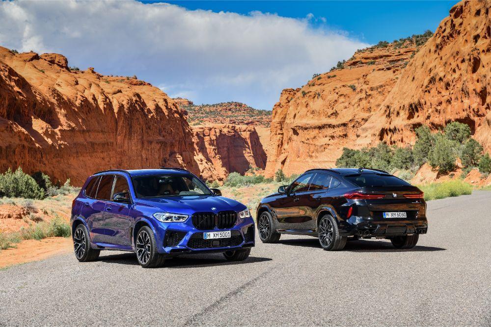 Novos BMW X5 M e X6 M Competition