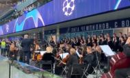 VÍDEO: Benfica ouviu hino da Champions tocado... ao vivo (youtube)