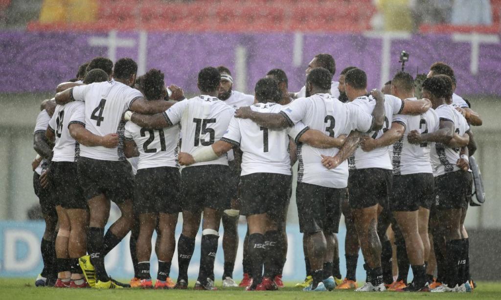 Geórgia-Fiji, Mundial de Râguebi (AFP)