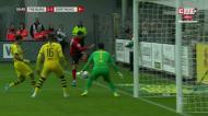 O autogolo que tirou a vitória ao Dortmund perto dos descontos