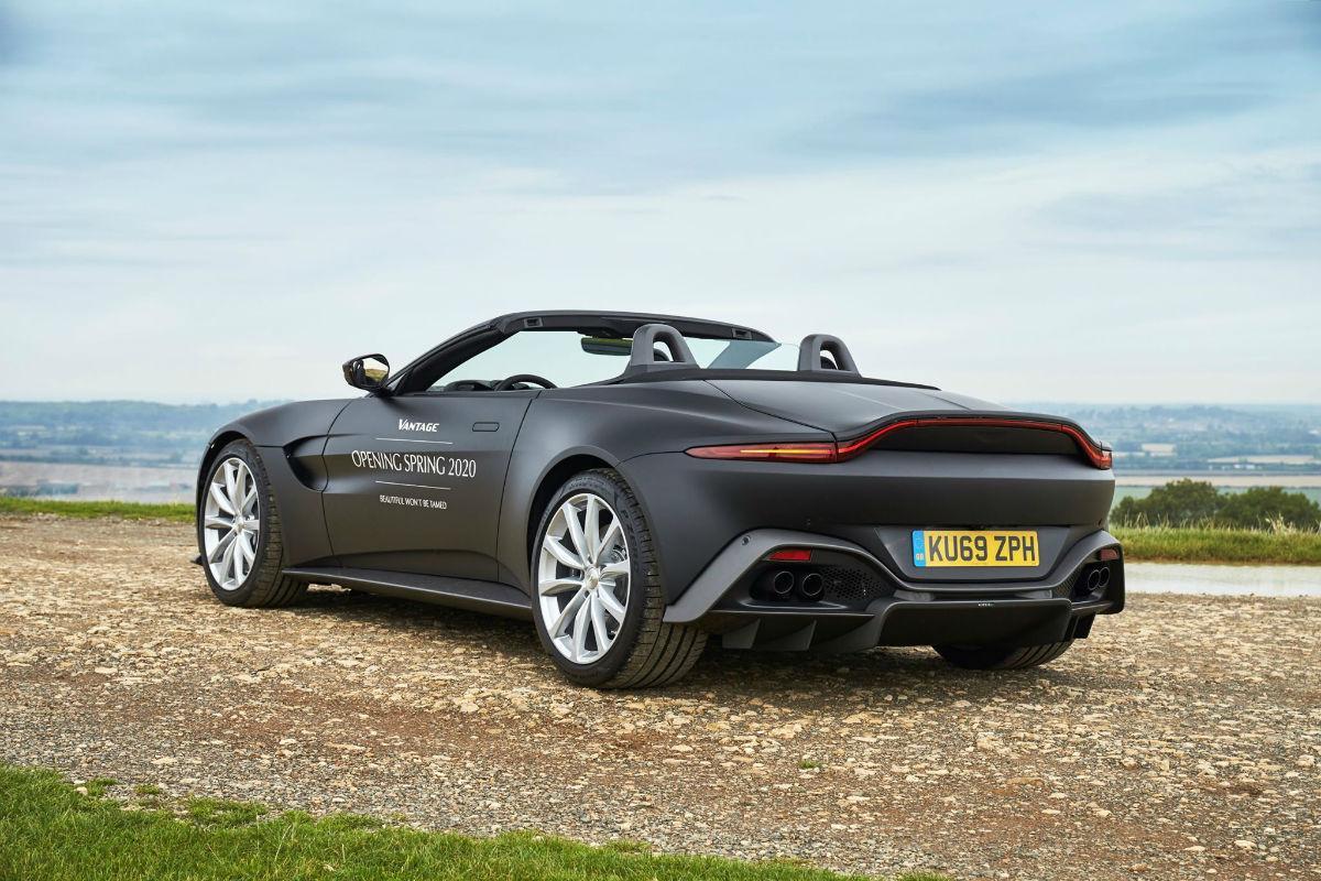 Aston Martin Vantage Rodster (imagem Aston Martin)