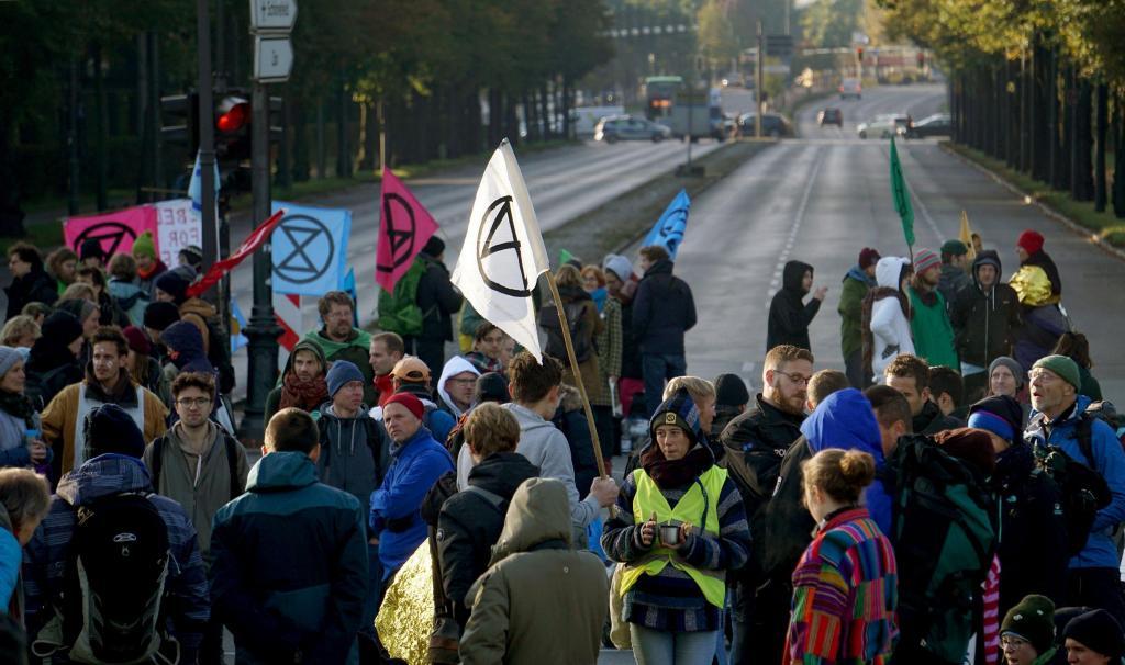 Ativistas climáticos